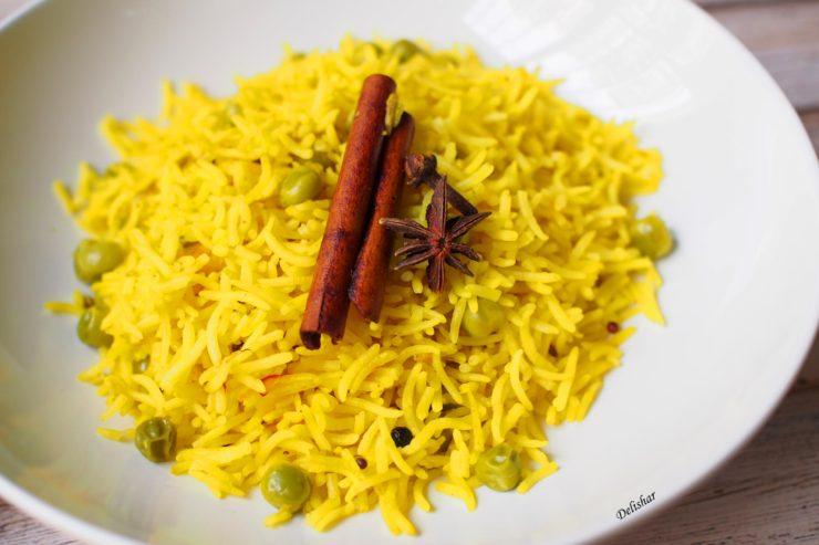 Saffron Basmati Rice | Delishar - Singapore Cooking Blog