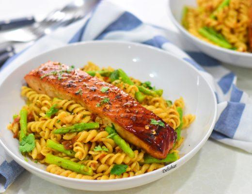 Broccoli with Bay Scallops | Delishar - Singapore Cooking Blog