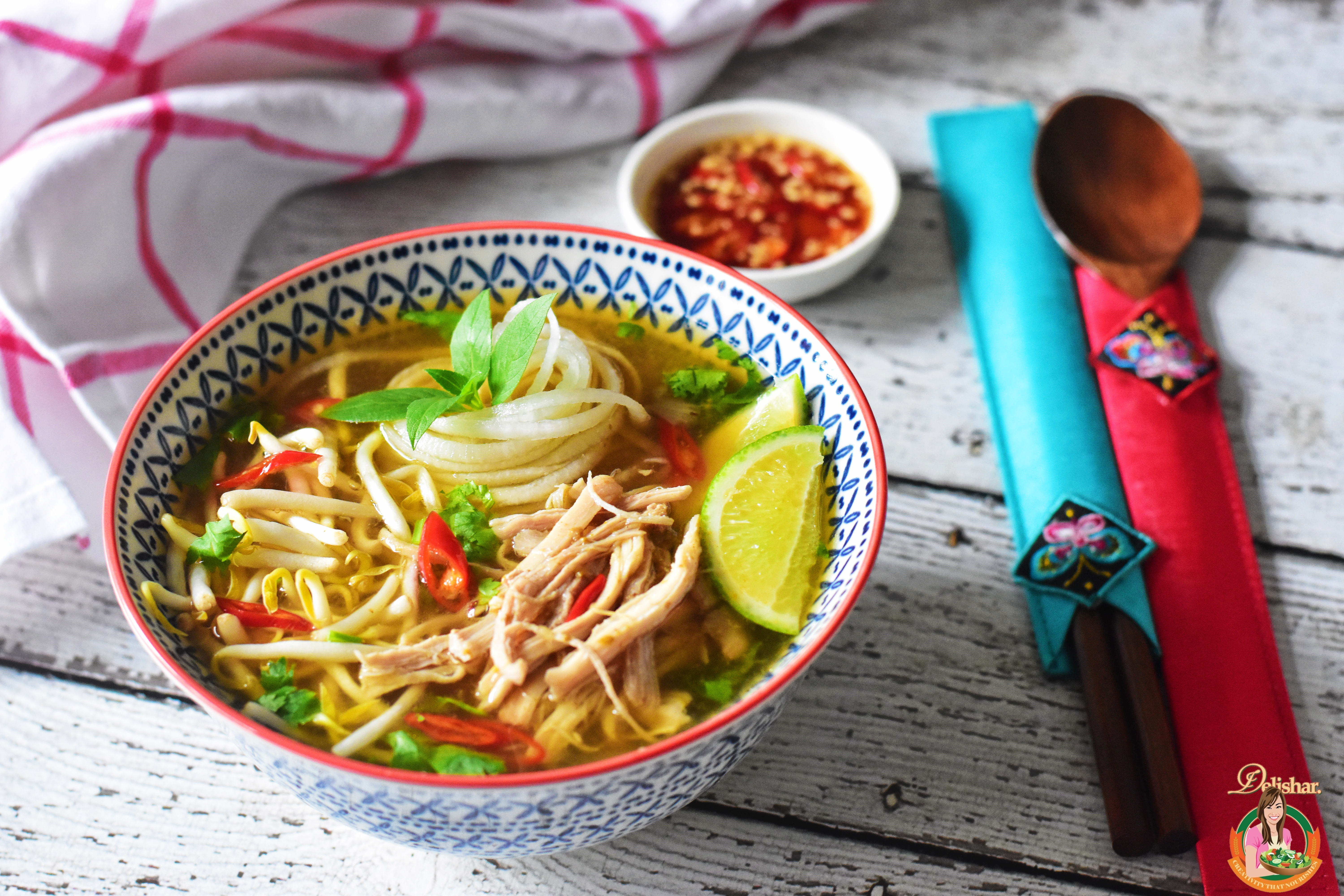 Faux Chicken Pho (Whole 30, Paleo)