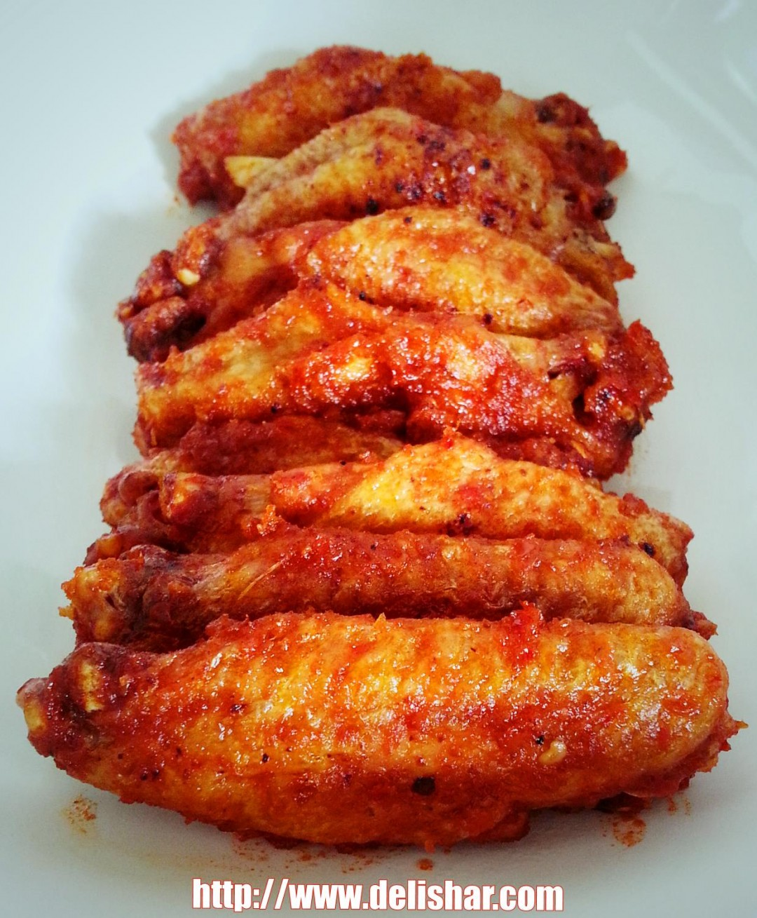 Baked Sambal Chicken Wing Delishar Singapore Cooking Blog