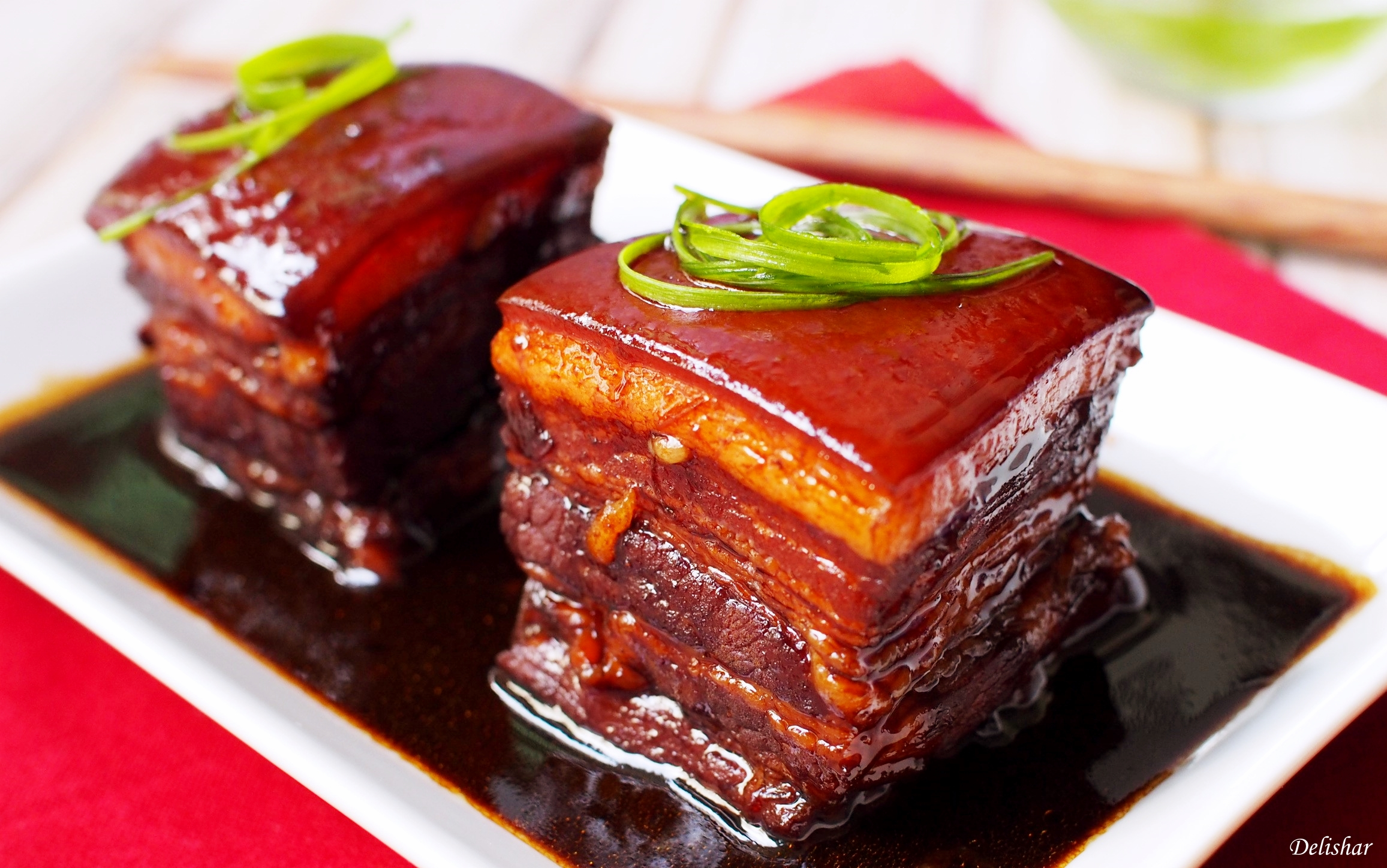 Dong Po Rou (Braised Pork Belly) | Delishar - Singapore Cooking Blog